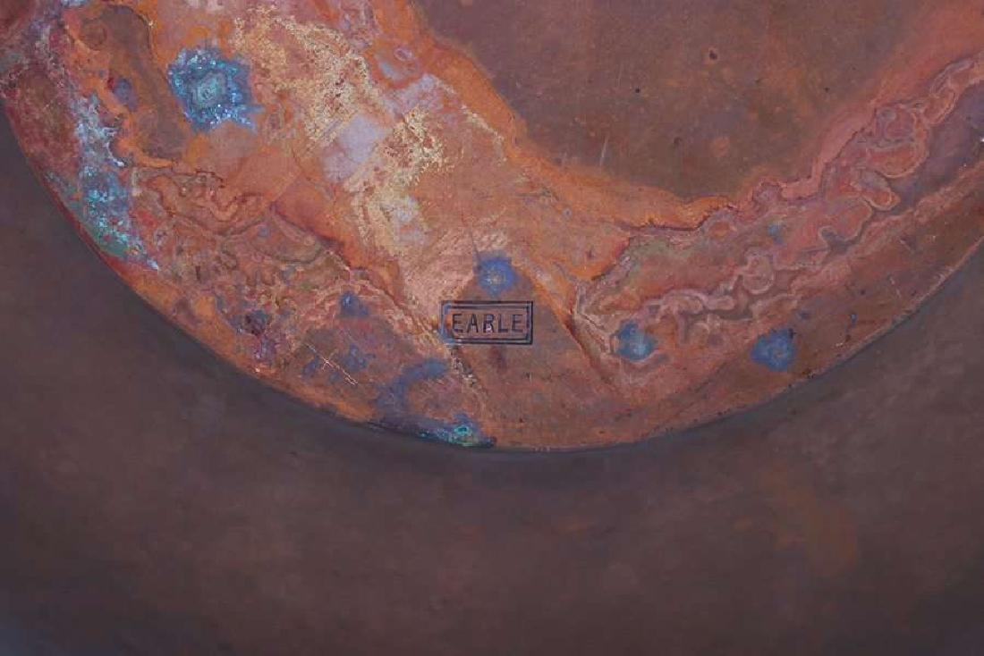 Arts & Crafts Hammered Copper Bowl EARLE - 3