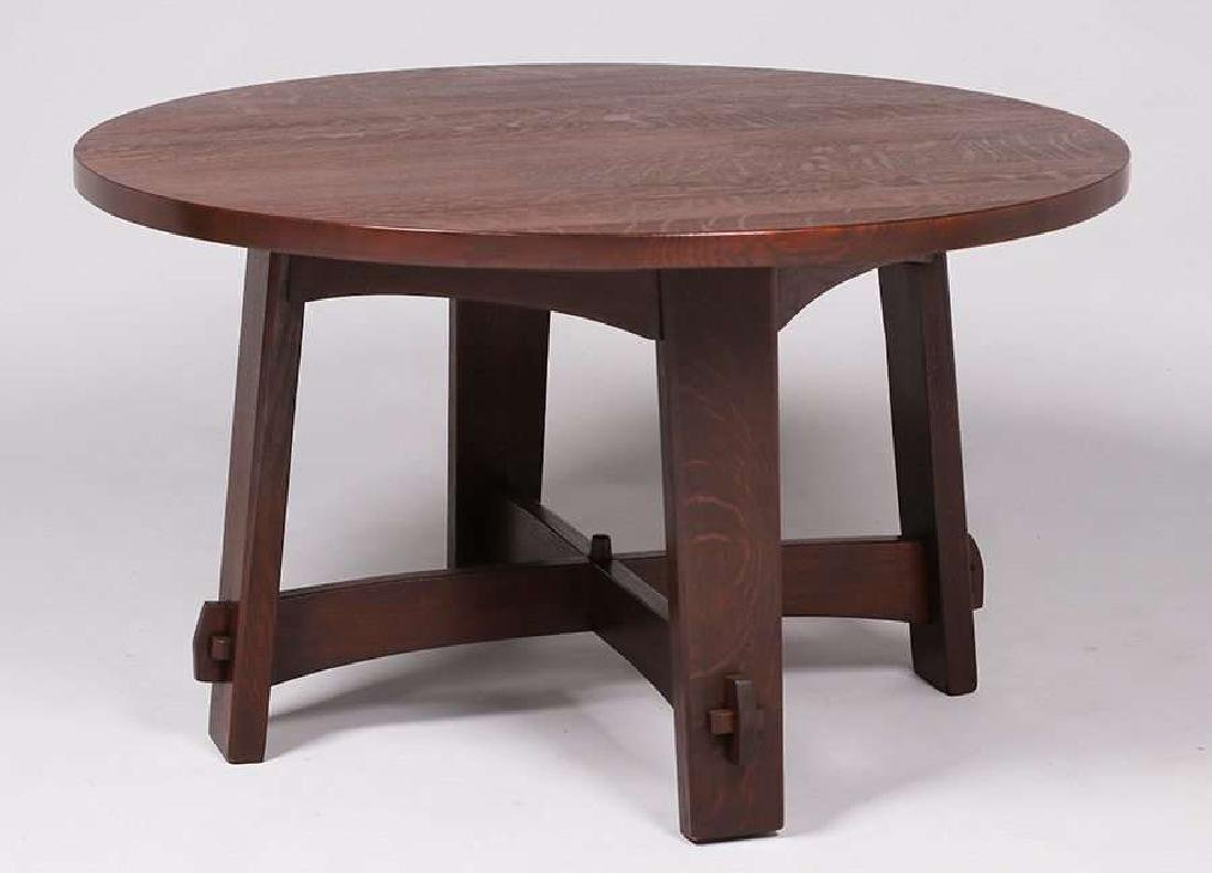 Gustav Stickley #407 library table c1902