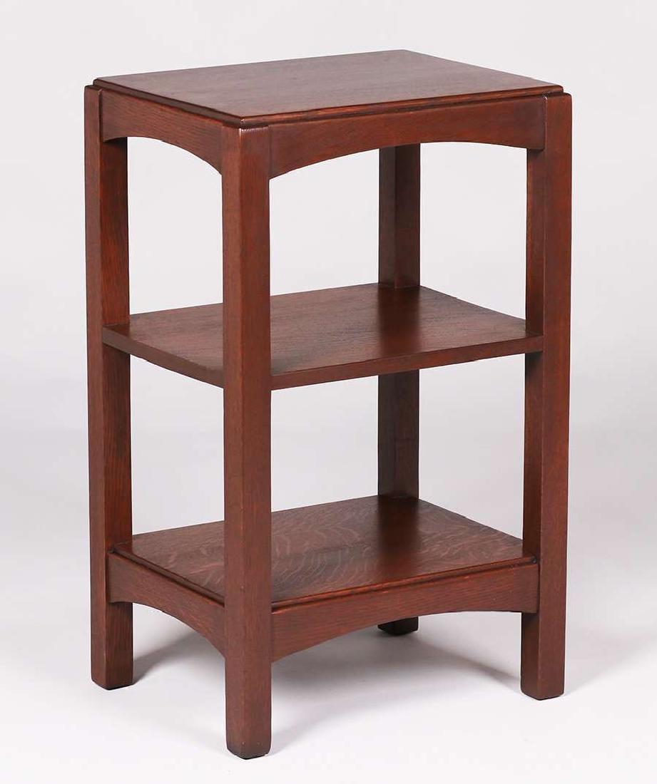 Limbert nightstand – shelf c1910.