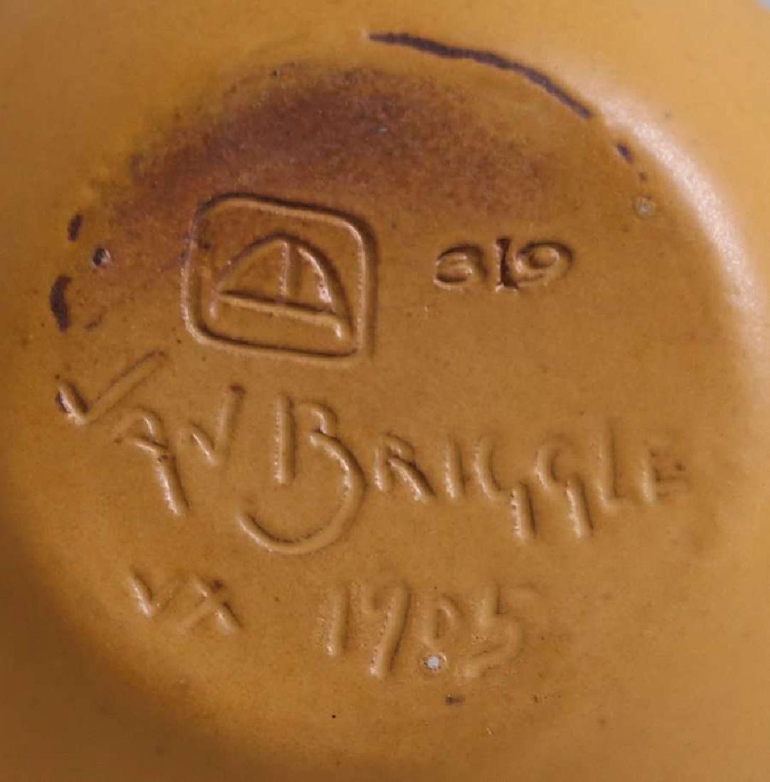 Early Van Briggle Gourd Vase 1905 - 3