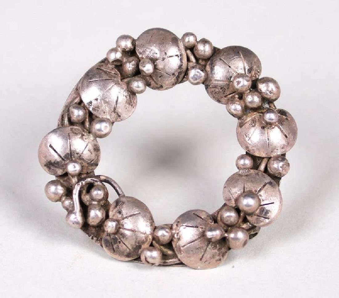 Mary Gage Boston Society of Arts & Crafts Silver Brooch
