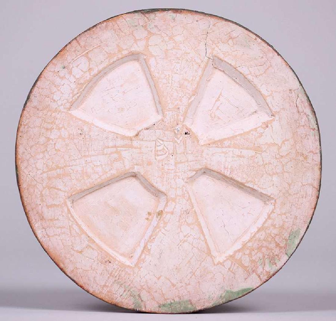 Arts & Crafts Hand-Carved Grapevine Tile c1910 - 2