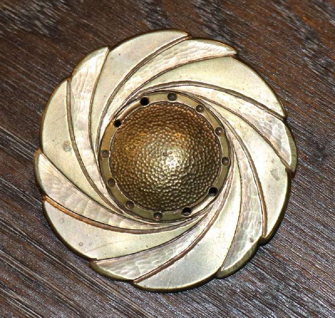 Walter Jennings – Roycroft hand hammered brass