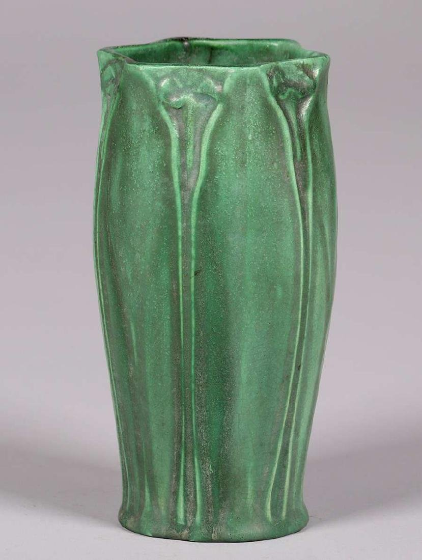 Craven Art Pottery Matte Green Vase William Jervis 1906
