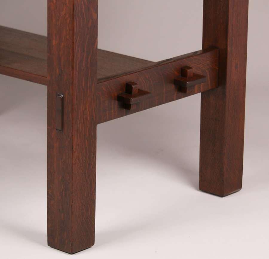 Gustav Stickley #433 Library Table - 2