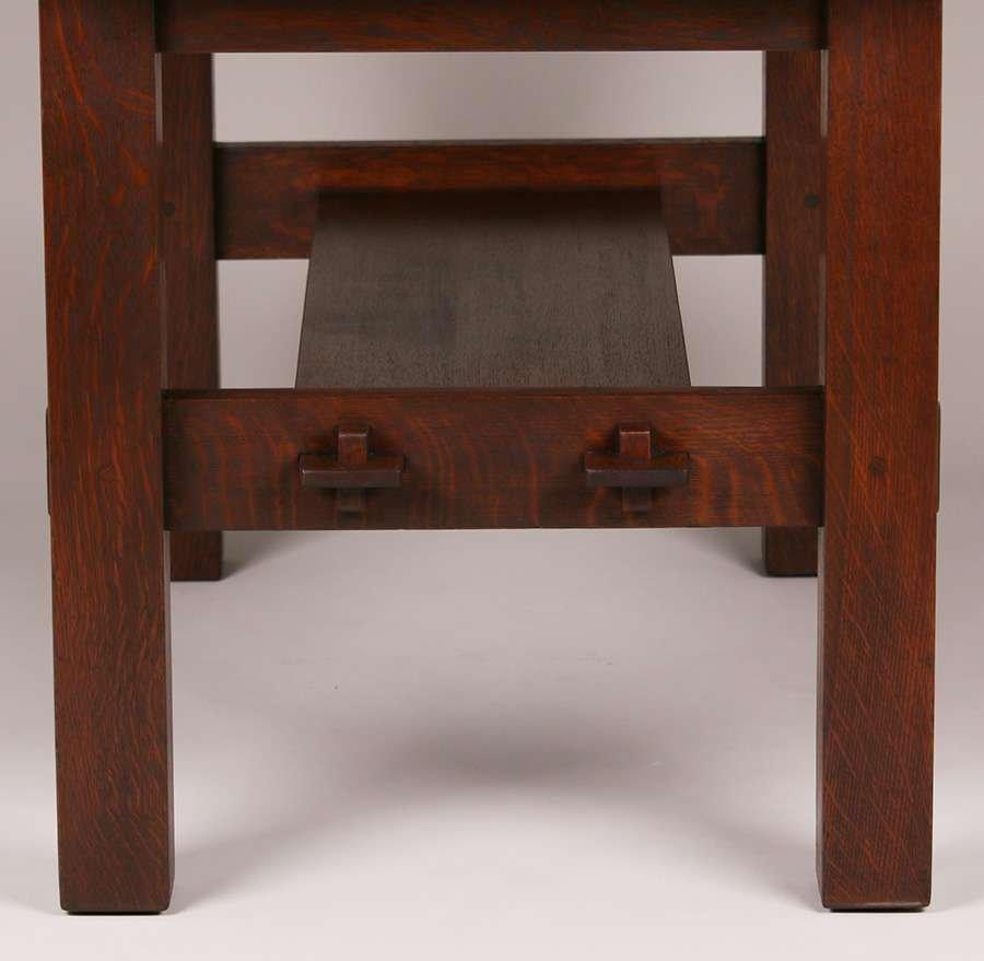 Gustav Stickley #433 Library Table - 3