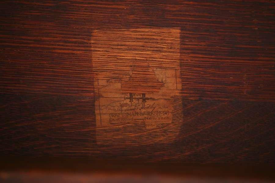 Gustav Stickley #433 Library Table - 4