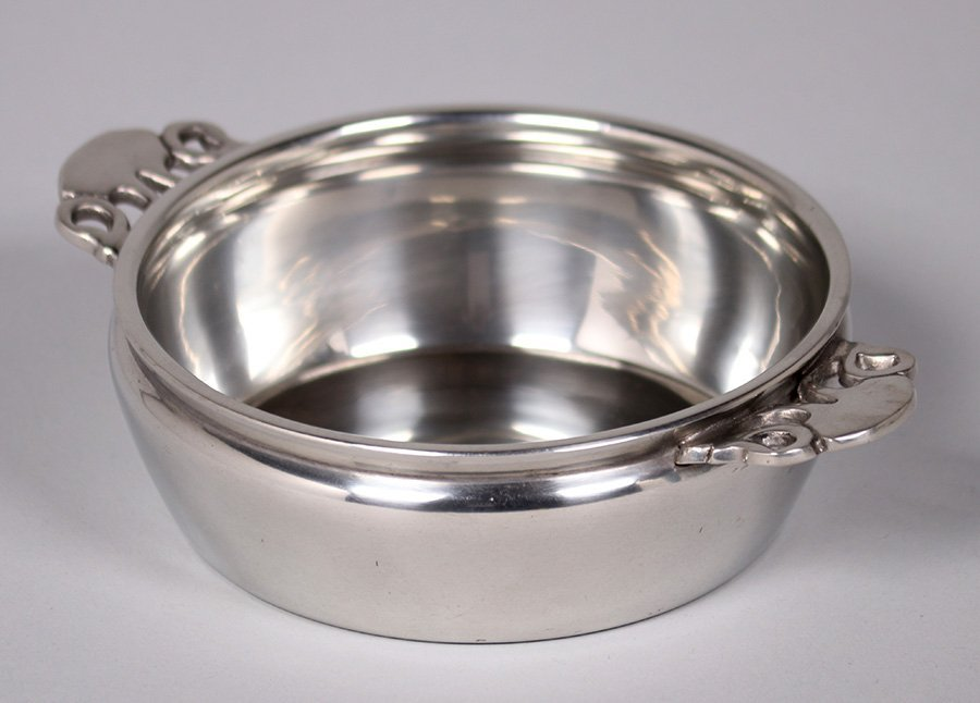 Rebecca Cauman Pewter Porringer Boston Society of A&C