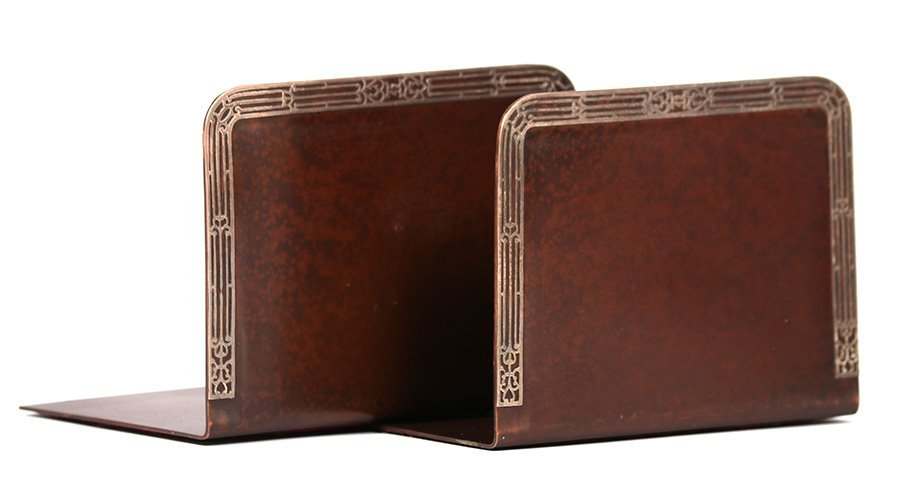 Heintz Sterling on Bronze Bookends