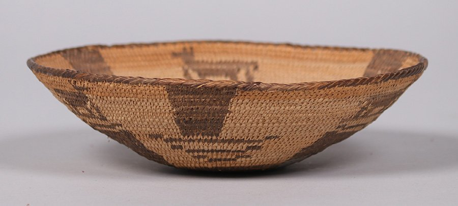 Pima Native American Basket Arizona c1910