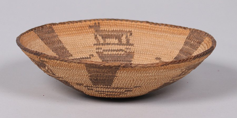 Pima Native American Basket Arizona c1910 - 2