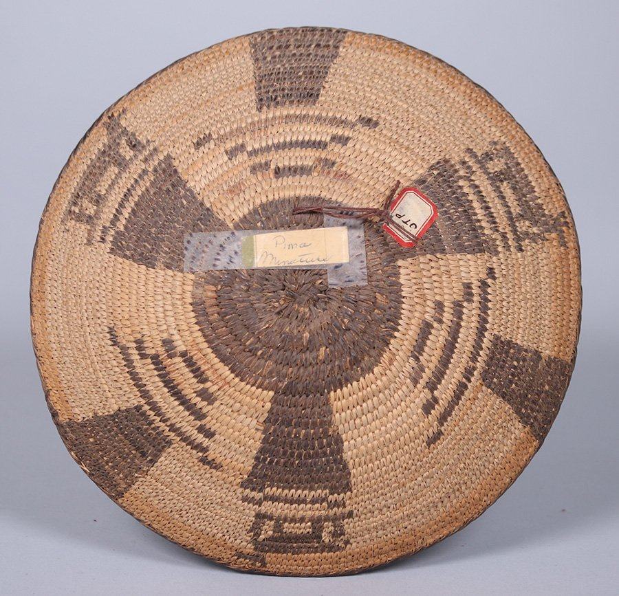 Pima Native American Basket Arizona c1910 - 3