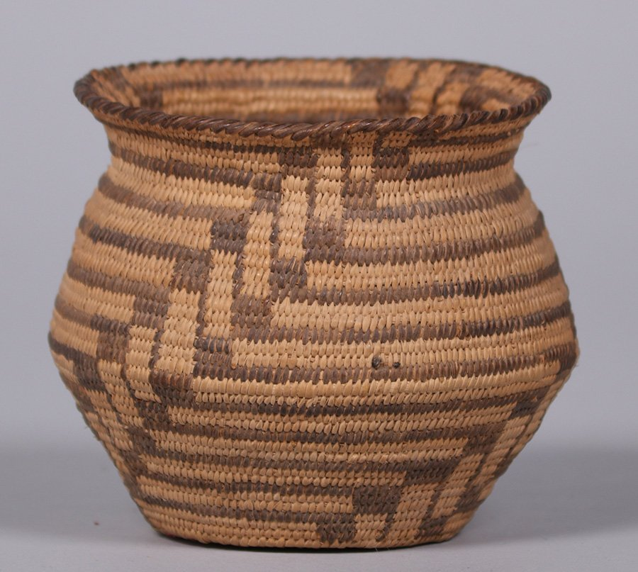 Pima Native American Basket Arizona c1910 - 2