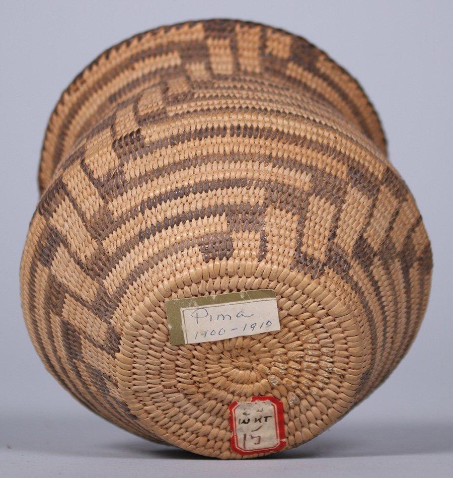 Pima Native American Basket Arizona c1910 - 3