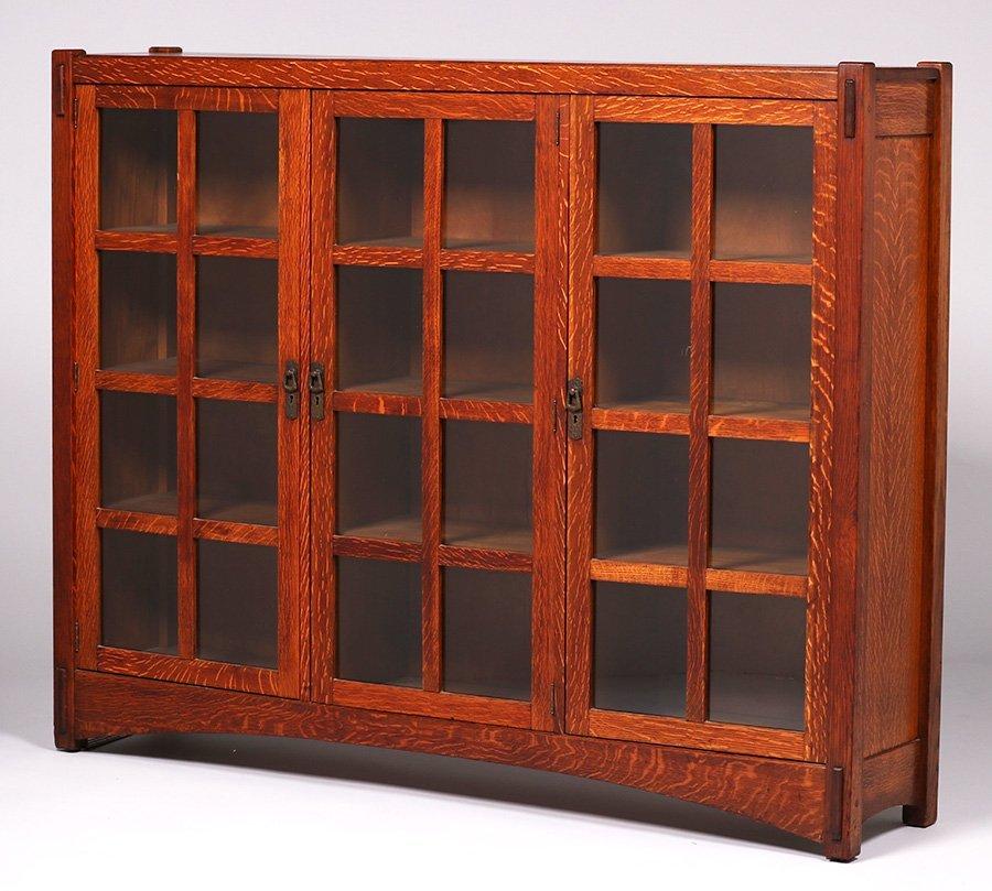 Lifetime Furniture Co 3-Door Bookcase