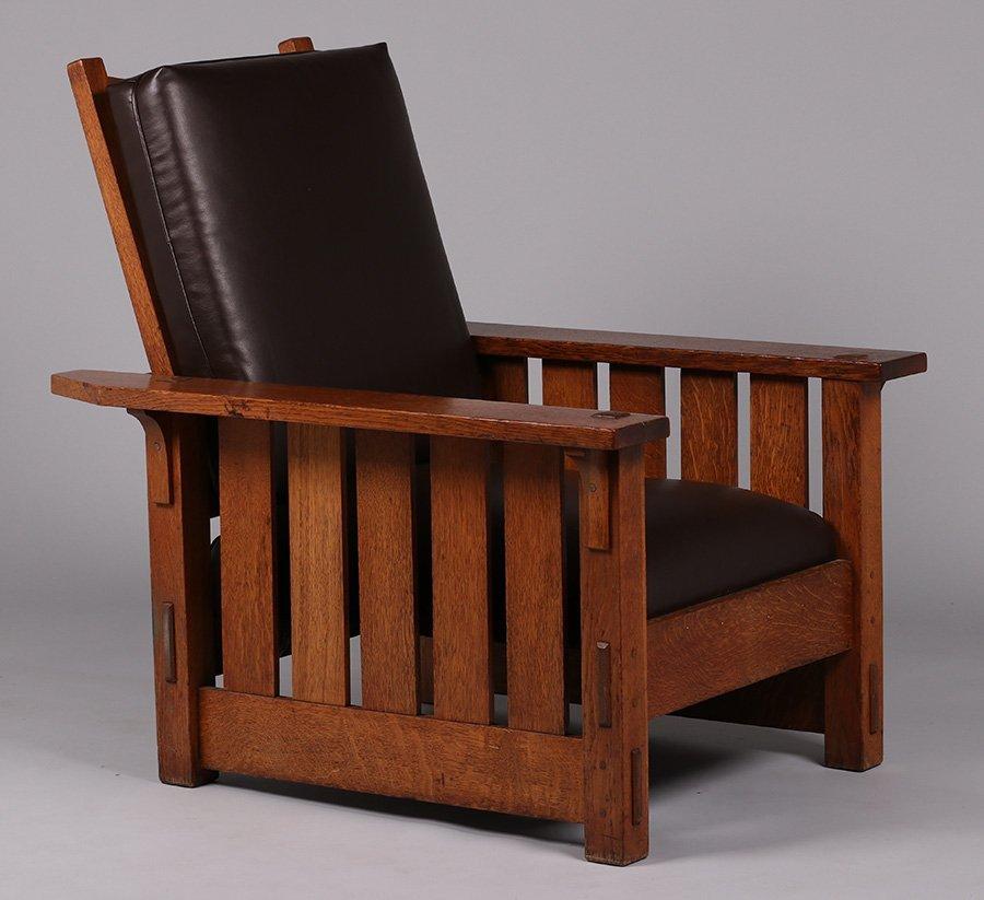Gustav Stickley #332 Morris Chair