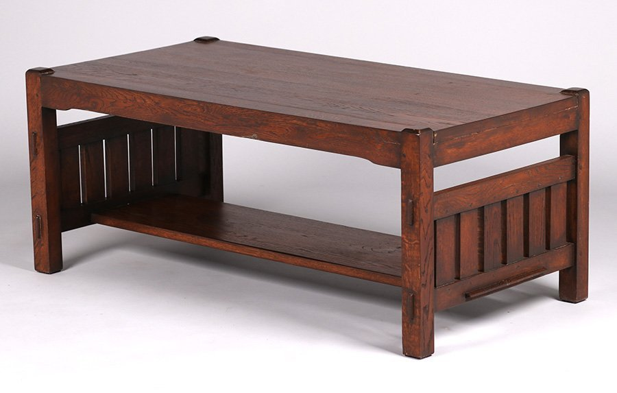 Mission Oak Coffee Table