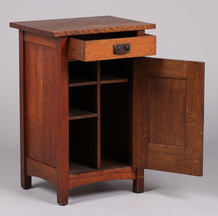 L&JG Stickley Smokers Cabinet - 2