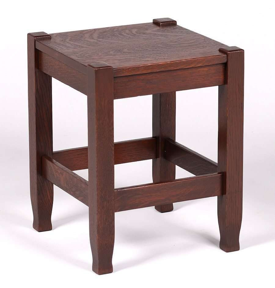 Stickley Brothers Square Taboret