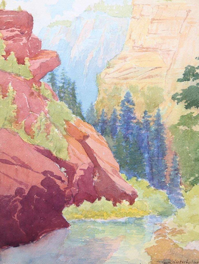 Erwin Winterhalder Watercolor