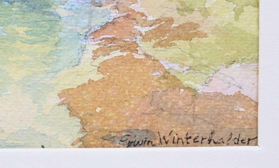 Erwin Winterhalder Watercolor - 3
