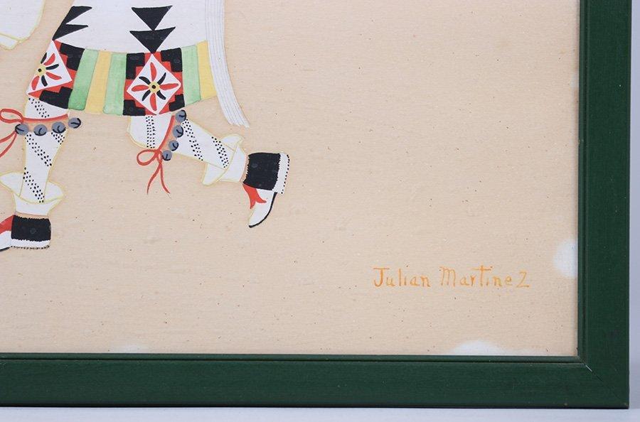 Julian Martinez Watercolor Deer Dancer - 4