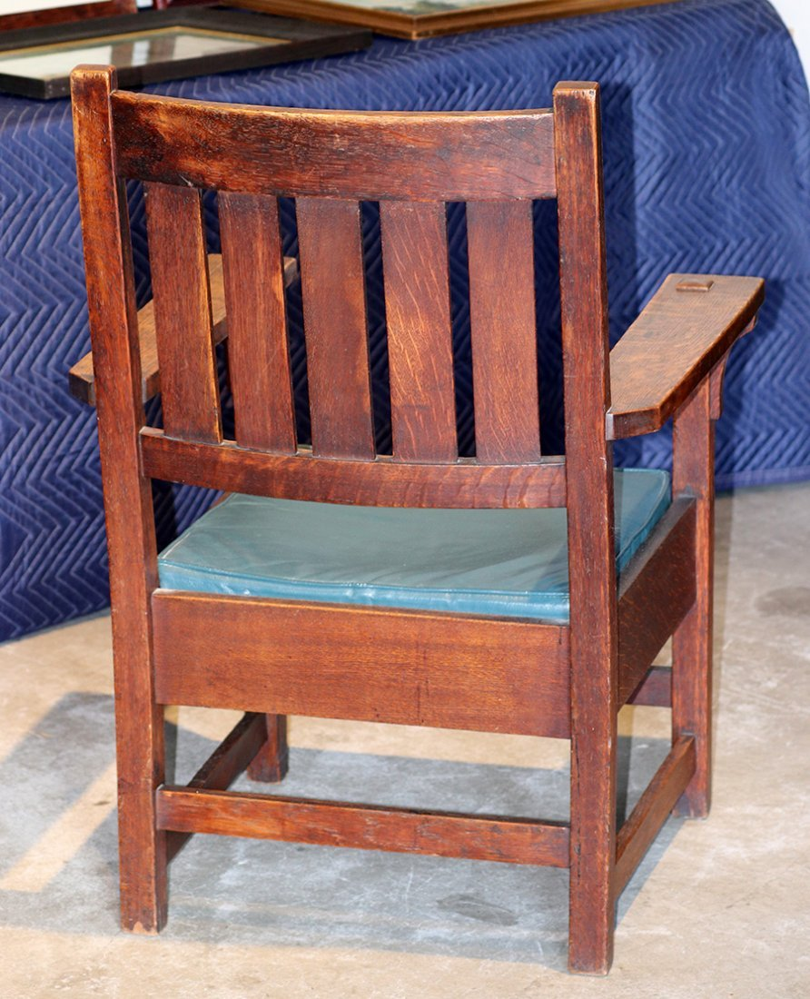 Gustav Stickley #2626 Armchair c1902-1903 - 2