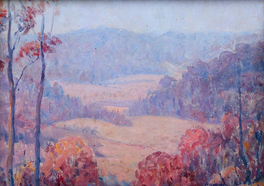 Carl Gentry Missouri Painting c1920