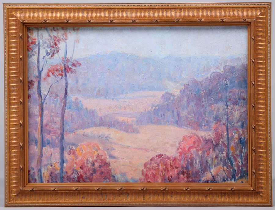 Carl Gentry Missouri Painting c1920 - 2