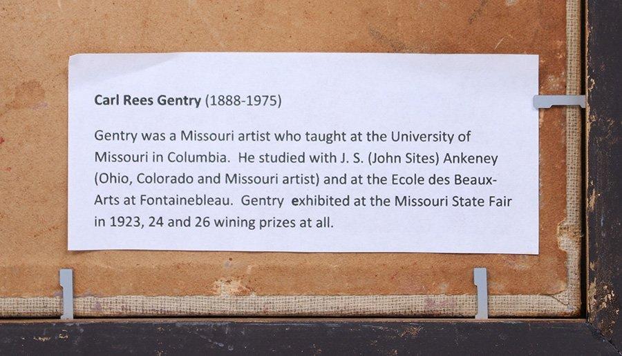 Carl Gentry Missouri Painting c1920 - 6
