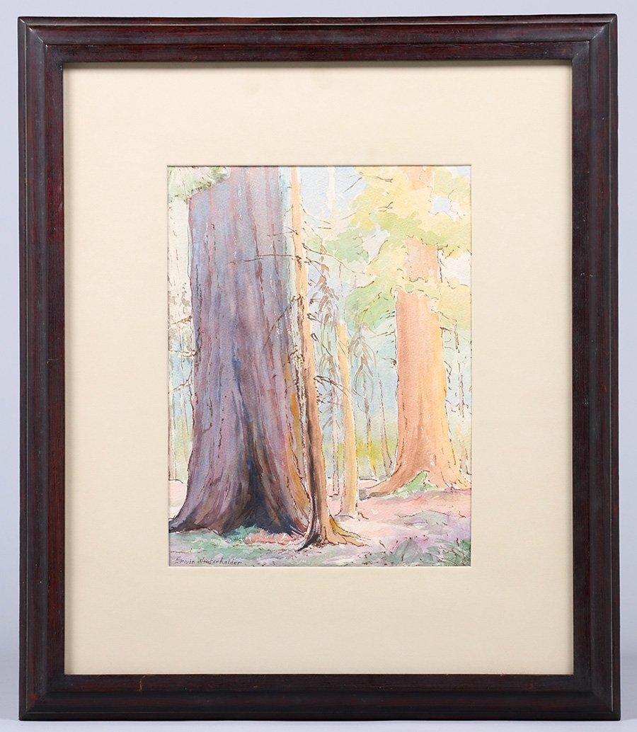 Erwin Winterharter Watercolor - 2