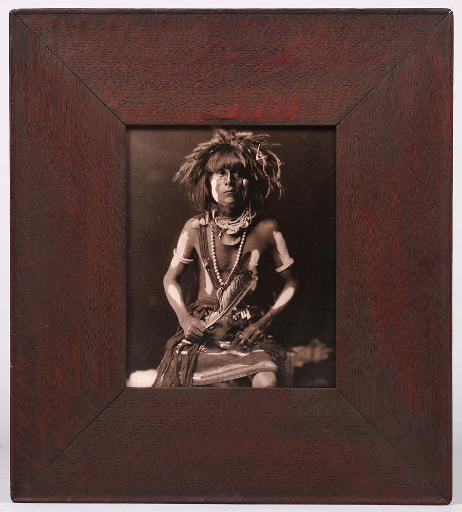 Edward Curtis Photo  Restrike Hopi Warrior - 2
