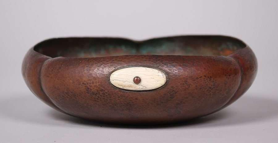 Albert Berry Hammered Copper Bowl