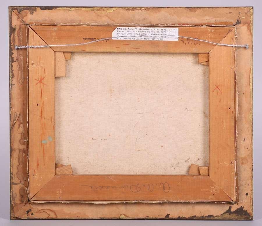 Anita Dinneen Mt Tamalpais Painting c1910-1920 - 3