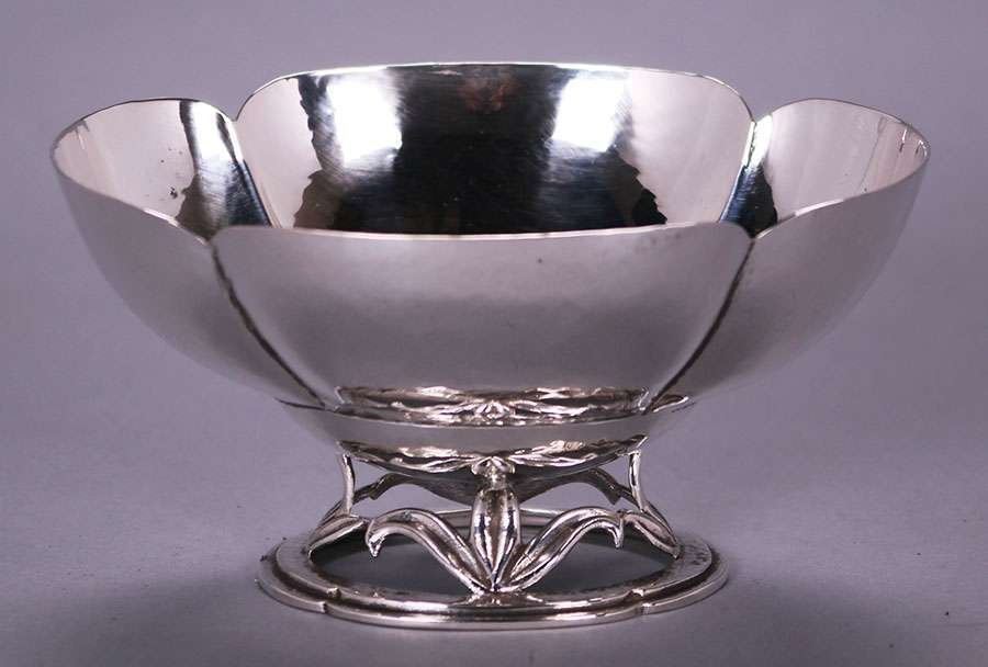 Randahl Chicago Hand-Hammered Sterling Silver Bowl - 2