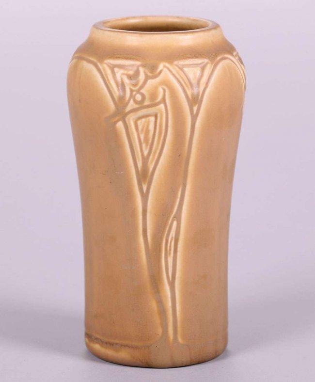 Rookwood Matte Brown Seahorse Vase 1919