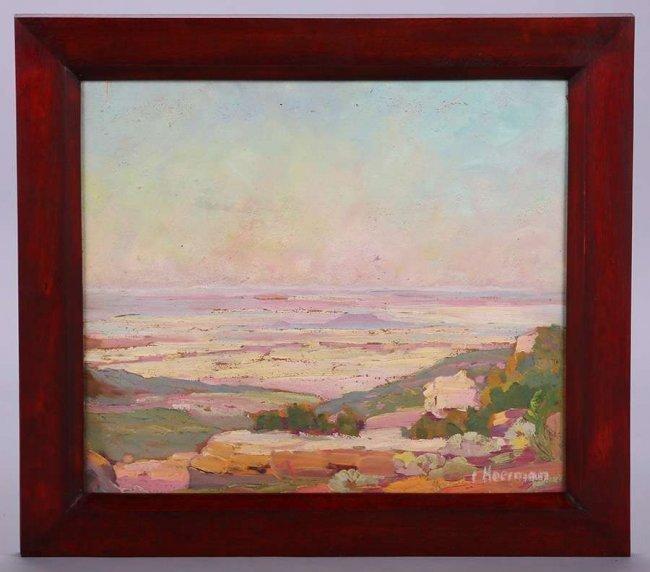 Carl Hoerman Oil Painting of Arizona Landscape - 2
