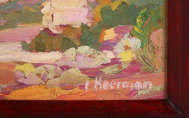 Carl Hoerman Oil Painting of Arizona Landscape - 3