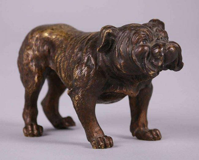 Austrian Bronze Bull Dog c1910