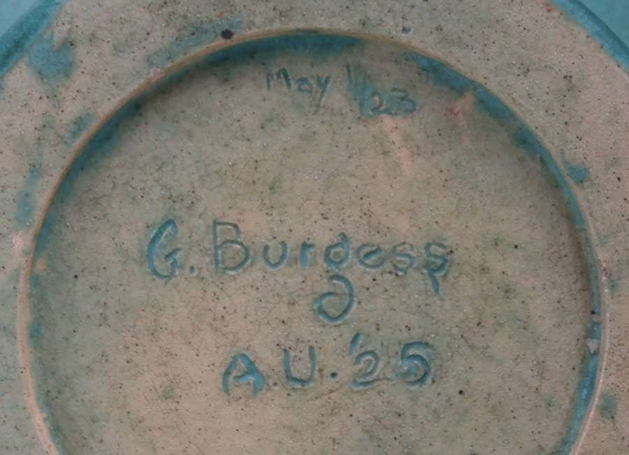 Alfred University Matte Green Vase c1923 Charles Binns - 3