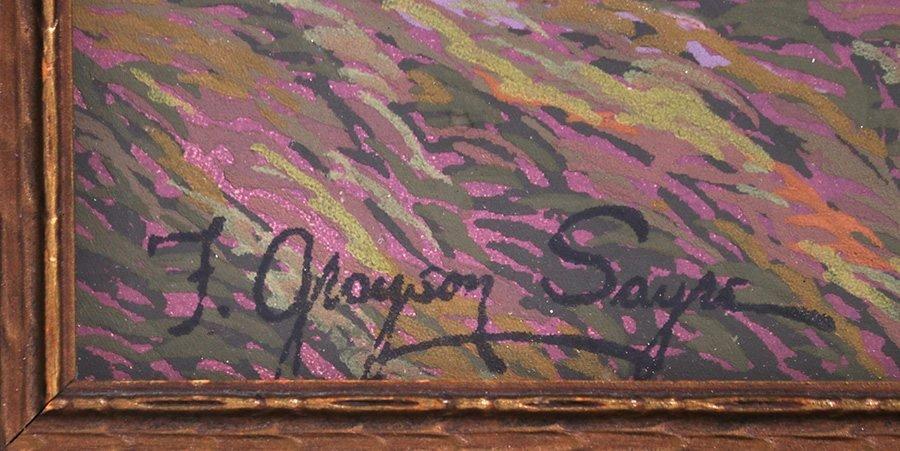 Fred Grayson Sayre Serigraph c1910-1920 - 3