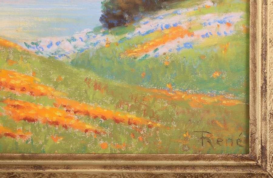Classic California Landscape Pastel c1910 - 3