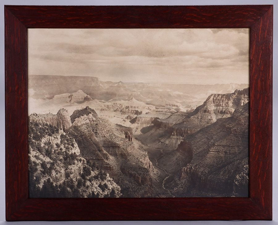 Grand Canyon Sepia Tone Photo c1910s - 2