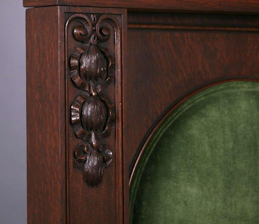 Mathews Furniture Shop Throne Chair c1912 - 3