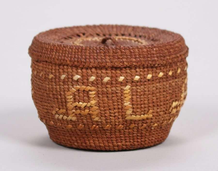 "Native American ""Alaska"" Basket c1900-1920"