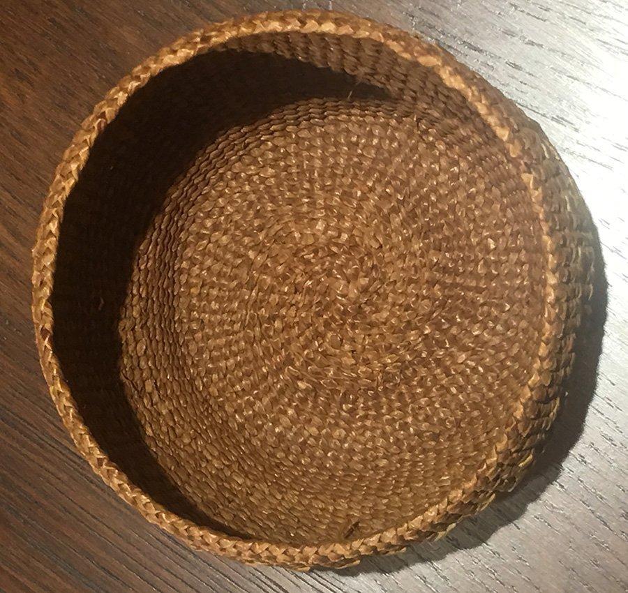 "Native American ""Alaska"" Basket c1900-1920 - 7"