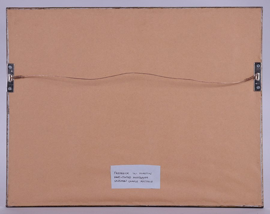 Two Frederick W. Martin Tinted Photo Sample Boards - 6