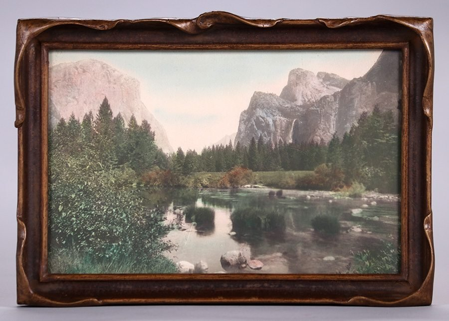 Yosemite Hand-Tinted Photo c1910