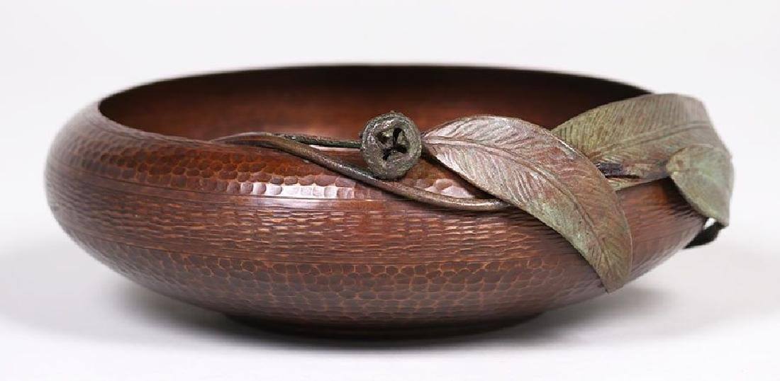 Old Mission Kopper Kraft Hammered Copper Bowl
