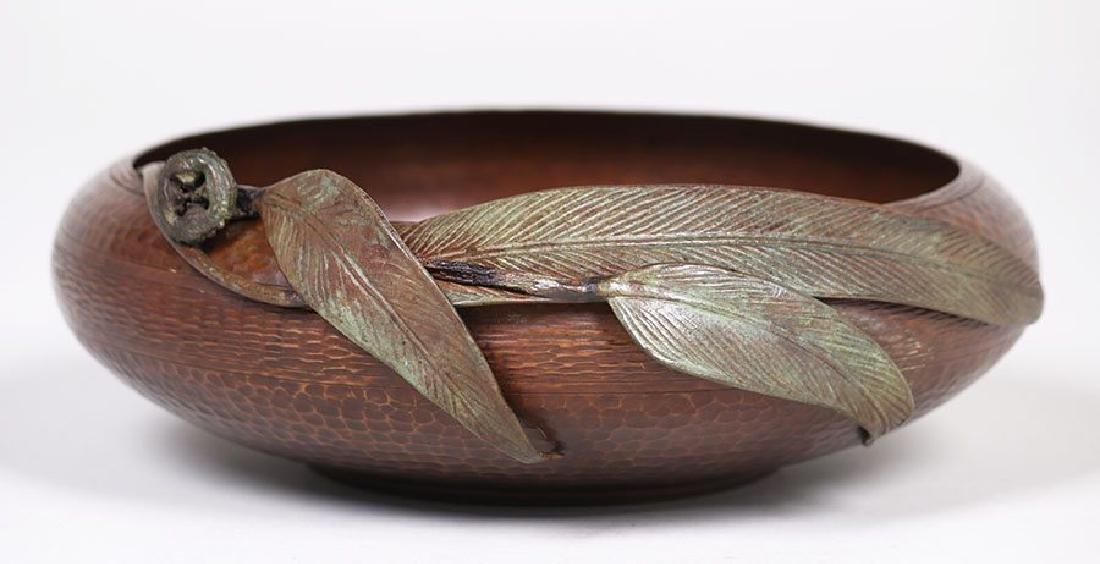 Old Mission Kopper Kraft Hammered Copper Bowl - 2